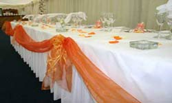 orange swags 250x150